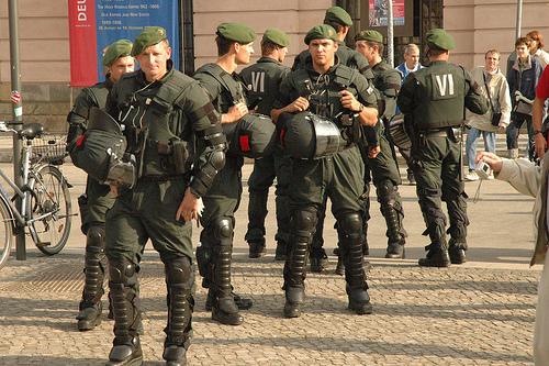 Hot Riot Police